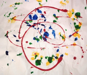 Layla's Painting - Age 2