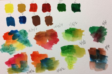 Watercolor Paint Testing 03032017
